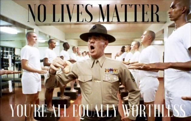 2016-07-09 No Lives Matter